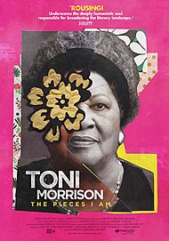"""Movie poster for """"TONI MORRISON: THE PIECES I AM"""""""