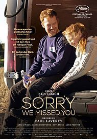 "Filmplakat für ""SORRY WE MISSED YOU"""
