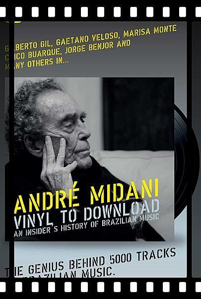 """Filmplakat für """"ANDRE MIDANI - A BRIEF HISTORY OF THE BRAZILIAN MUSIC"""""""