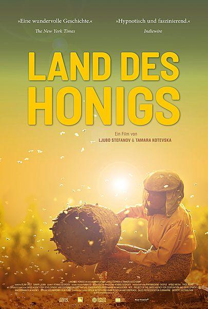 """Filmplakat für """"LAND DES HONIGS"""""""