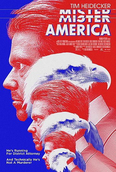 "Movie poster for ""MISTER AMERICA"""