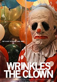 "Movie poster for ""WRINKLES THE CLOWN"""