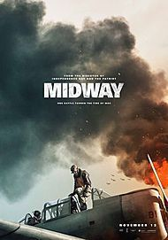 """Movie poster for """"MIDWAY"""""""
