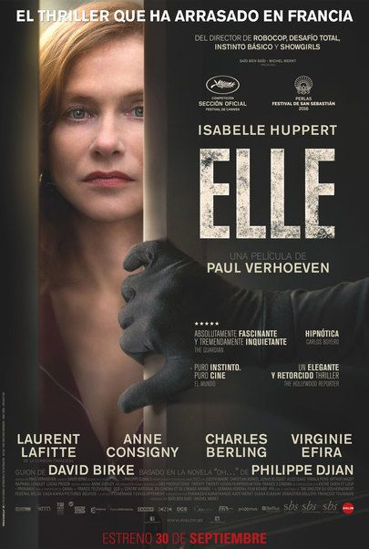 "Movie poster for ""Elle"""