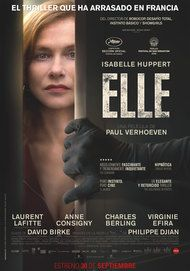 "Movie poster for ""Elle"""