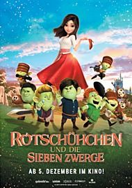 "Movie poster for ""RED SHOES AND THE SEVEN DWARFS"""