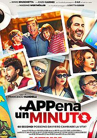 """Movie poster for """"APPENA UN MINUTO"""""""