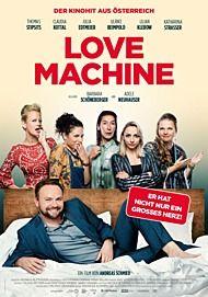 """Filmplakat für """"LOVE MACHINE"""""""