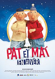 "Movie poster for ""PAT ET MAT EN HIVER"""