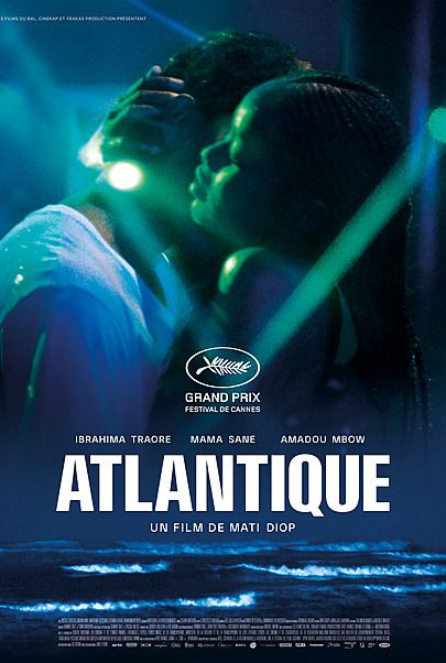 "Movie poster for ""ATLANTICS"""