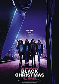 """Movie poster for """"BLACK CHRISTMAS"""""""