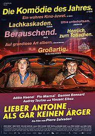 """Filmplakat für """"LIEBER ANTOINE ALS GAR KEINEN ÄRGER"""""""