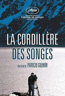"""Affiche du film """"LA CORDILLERE DES SONGES"""""""