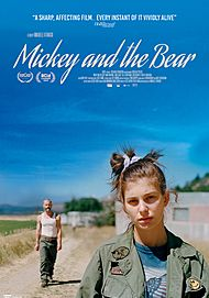 """Movie poster for """"MICKEY AND THE BEAR"""""""