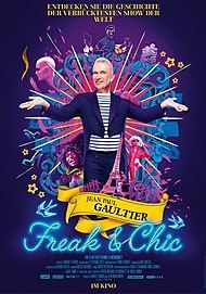 """Movie poster for """"JEAN PAUL GAULTIER: FREAK AND CHIC"""""""