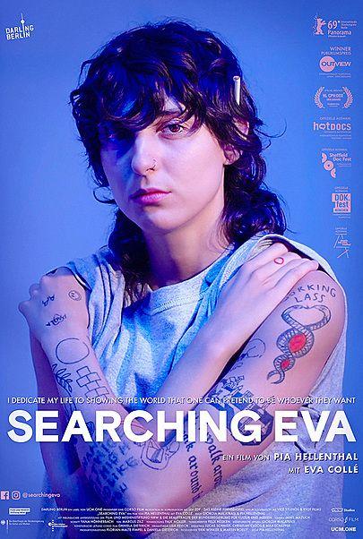 """Filmplakat für """"SEARCHING EVA"""""""