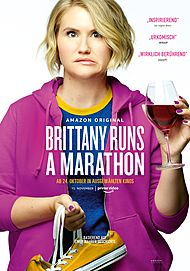 "Movie poster for ""BRITTANY RUNS A MARATHON"""