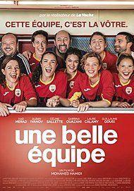 """Affiche du film """"UNE BELLE EQUIPE"""""""