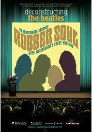 """Movie poster for """"DECONSTRUCTING THE BEATLES: RUBBER SOUL"""""""