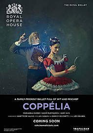 """Movie poster for """"COPPELIA - ROYAL OPERA HOUSE 2019/20"""""""