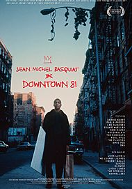 """Movie poster for """"DOWNTOWN 81"""""""