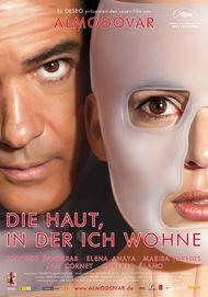 """Filmplakat für """"Die Haut, in der ich wohne """""""