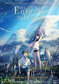 """Affiche du film """"LES ENFANTS DU TEMPS (WEATHERING WITH YOU)"""""""