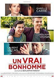 "Movie poster for ""UN VRAI BONHOMME"""