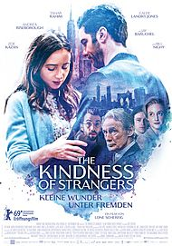 "Movie poster for ""THE KINDNESS OF STRANGERS"""