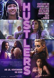 """Movie poster for """"HUSTLERS"""""""