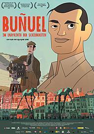 """Filmplakat für """"BUÑUEL - IM LABYRINTH DER SCHILDKRÖTEN """""""