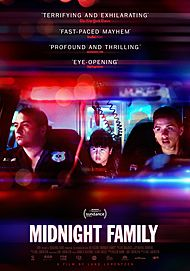 """Movie poster for """"MIDNIGHT FAMILY"""""""