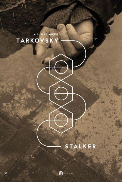 "Movie poster for ""STALKER"""