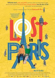 "Movie poster for ""LOST IN PARIS"""