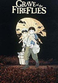 """Movie poster for """"GRAVE OF THE FIREFLIES"""""""