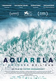 "Movie poster for ""AQUARELA """