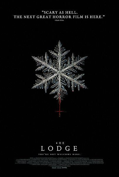 """Movie poster for """"THE LODGE"""""""