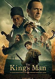 """Movie poster for """"THE KING'S MAN"""""""