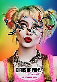 """Movie poster for """"BIRDS OF PREY (AND THE FANTABULOUS EMANCIPATION OF ONE HARLEY QUINN)"""""""