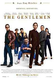 "Movie poster for ""THE GENTLEMEN"""