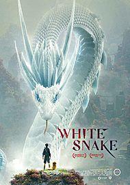 """Movie poster for """"WHITE SNAKE"""""""