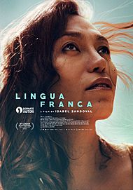 """Movie poster for """"LINGUA FRANCA"""""""