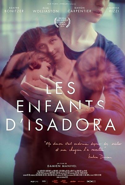 """Movie poster for """"LES ENFANTS D'ISADORA"""""""
