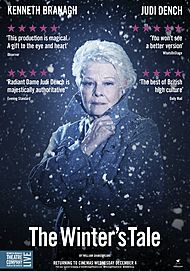 """Movie poster for """"BRANAGH THEATRE LIVE: THE WINTER'S TALE"""""""