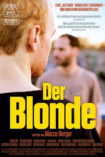 """Filmplakat für """"DER BLONDE"""""""