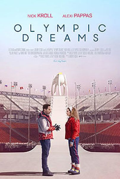 "Movie poster for ""OLYMPIC DREAMS"""