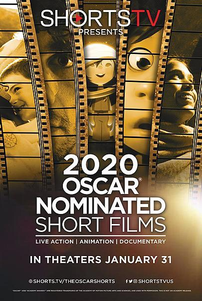"""Movie poster for """"2020 OSCAR SHORTS"""""""
