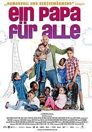 """Filmplakat für """"EIN PAPA FÜR ALLE - FILMSTART IN ÖSTERREICH"""""""