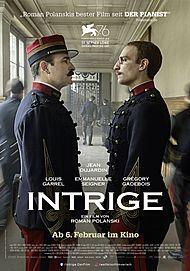 """Filmplakat für """"INTRIGE"""""""