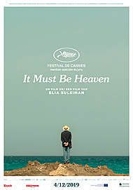 "Movie poster for ""IT MUST BE HEAVEN"""